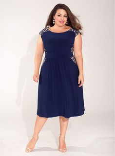 Tamara Dress in Navy. Get 50% OFF THIS DRESS TODAY! Shop IGIGI's Trick or Treat Yo'Self Sale!