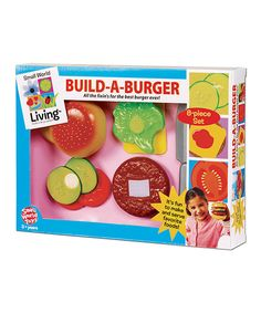 Look at this Build a Burger Set on #zulily today!