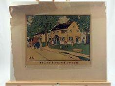 1909 Statehouse Tavern Robert Smith Ale James Preston Print Historic Phila | eBay