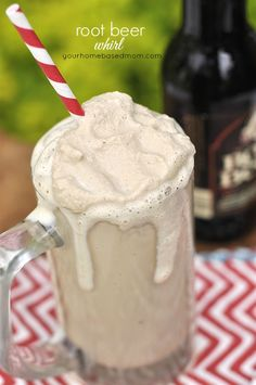 Root Beer Freeze {Whirl} - your homebased mom