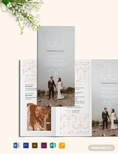 Instantly Download Wedding Planner Tri-Fold Brochure Template, Sample & Example in Microsoft Word (DOC), Adobe Photoshop (PSD), Adobe InDesign (INDD & IDML), Apple Pages, Microsoft Publisher, Adobe Illustrator (AI) Format. Available in (US) 8.5x11, (A4) 8.27x11.69 inches + Bleed. Quickly Customize. Easily Editable & Printable.