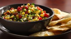 Green Giant® sweet corn stars in this simple salsa that's delicious with tortilla chips or served alongside grilled chicken.