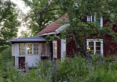 Traditional Swedish cabin