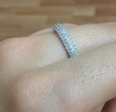 Check out this item in my Etsy shop https://www.etsy.com/listing/226661136/pave-ring-sterling-silver-ring-free