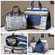 """""""Have you guys seen the new Makers Tote pattern by @noodlehead531? It is so fabulous! What a perfect thing to make for any crafter in your life. Who…"""""""