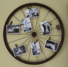 Old Bike Wheels Reused. I mean, I feel like we're going to do this at some point.