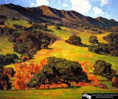 Verdant Hills William Wendt - 1920