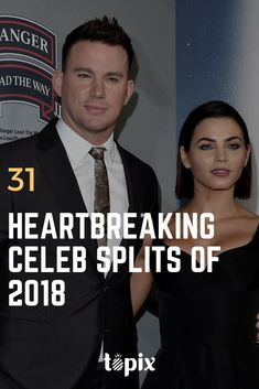 We didn't see these celebrity breakups coming