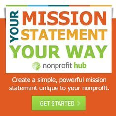 good and bad nonprofit mission statements chart | Nonprofit ...