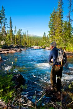 Anssi Koskelo fishing by Jaakko Posti, via 500px