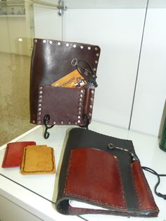 A variety of quality leather gift items can be found at OVA arts.