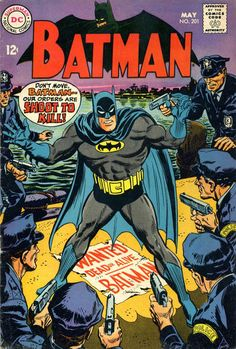Cover for Batman (1940 series) #201