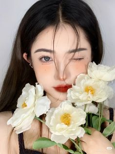Ulzzang, Septum Ring, Photography Styles, Makeup Aesthetic, Korean Fashion, Cute, Chinese, Outfits, Beauty