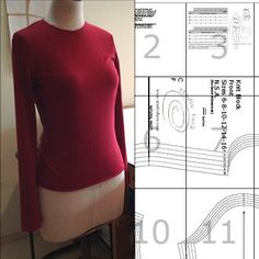 Womens Knit Block Size 6-16 A0 (download) #wellsuitedblog #patternpuzzles #creativepatternmaking #sewingpatterns #vintagepatterns #PDFsewingpatterns #digitalgarmentblocks #plussize #studiofaro #patternmakinginstructions #patternmaking Pdf Sewing Patterns, Vintage Patterns, Knitting Blocking, Pattern Making, Pattern Drafting, Dress Me Up, Kimono, Plus Size, Fashion Sketches