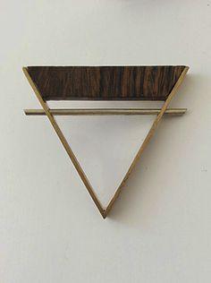 Wood you stick it  Brooch  Brass, Acrylic glass, Alpaca, Tree of Life