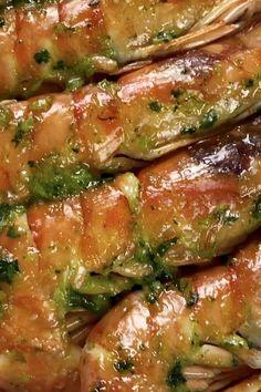 Shrimp Recipes For Dinner, Seafood Recipes, Mexican Food Recipes, Cooking Recipes, Healthy Recipes, Tasty Videos, Food Videos, Bolo Red Velvet Receita, Masterchef