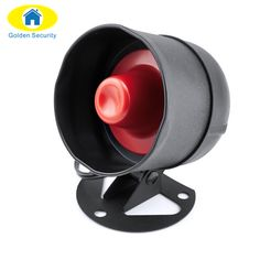 Auto Replacement Parts Search For Flights 3-24v Electric Buzzer Alarm Loud Speaker Warning Car Security Horn Automobile Siren Comfortable Feel