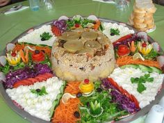 maklube-great rice with vegetables ,salad and yoghurt..yummy