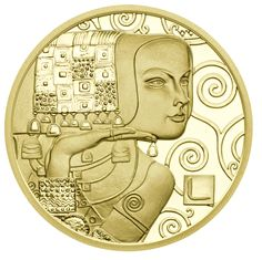 Few painters have succeeded in portraying the female form with such aplomb as Gustav Klimt. A case in point is The Expectation, which features in all its glory on the second in our stunning five-piece Klimt and his Women series of 50 euro gold coins celebrating the 150th anniversary of the Viennese master's birth.