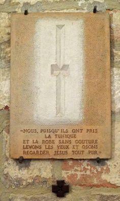 Zack, Léon, chemin de croix, station 10, 1941, casnac, blogspot