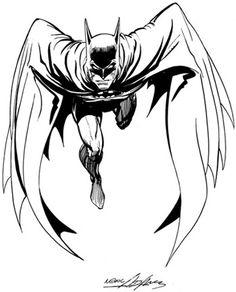 Gallery of Neal Adams Comic Art DC Comics Batman