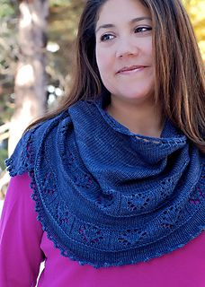 Granlibakken is a Norwegian name meaning a hill sheltered by trees. It is also the lovely Lake Tahoe winter resort where this shawl was knit and designed during the first snowfall of the year. This crescent-shaped shawl provides that extra warmth for those chilly evenings.