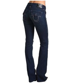 True Religion Becky Titan Bootcutn Jean in Vera Cruz $215.00