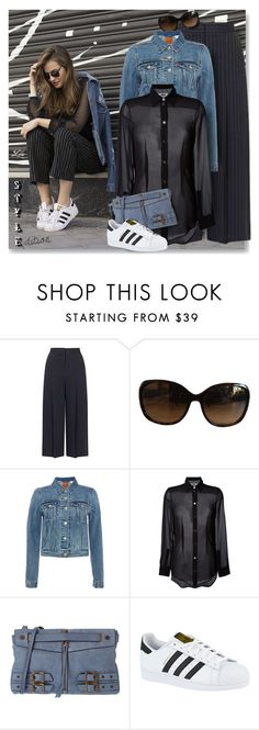 """""""Grab and Go: Cute Clutches"""" by breathing-style ❤ liked on Polyvore featuring Topshop, Ralph Lauren, Levi's, MM6 Maison Margiela, Joelle Hawkens by Treesje and adidas"""
