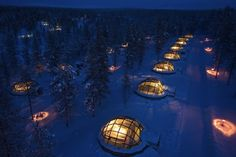 igloos Village Finland - See the Northern Lights without freezing ur tail off!!!