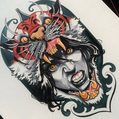 #Girl #Tattoo #Design