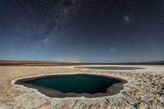 Lagunas Baltinache (Atacama Desert) Antofagasta, Chile
