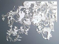 Amazing papercut by emma van leest