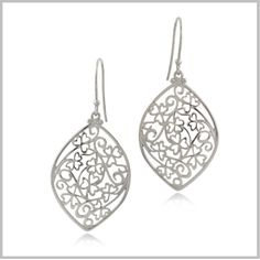 Shamrock Irish Lace Earrings