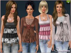 Casuals by Sims2fanbg   http://www.thesimsresource.com/downloads/1181978