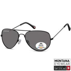 033718e337 Γυαλιά Ηλίου Aviator Montana Polarized MP96-BLACK-e-chap Montana