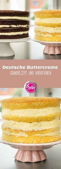 Hochzeitstorten motorrad German butter cream basic recipe and Deutsche Buttercreme Grundrezept und Variationen With the help of this basic recipe, you will succeed in butter cream at any time. You can conjure up both the classic and a fruity variant. Torte Au Chocolat, Dessert Oreo, Food Items, Relleno, Vanilla Cake, Mini Cupcakes, Food And Drink, Sweets, Trifle