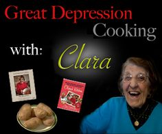 I <3 Clara Cannucciari! She reminds me of my wonderful old Sicilian-American immigrant relatives who lived through that era. You may or may not love her food, but how can you not love Clara? She's 96 years old now, having become a YouTube sensation when over 90 years old.