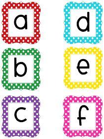 abecedario para imprimir