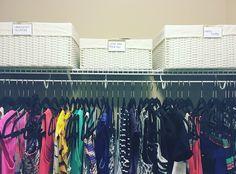 Organized Closet, NEAT Method, Closet organization