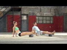 Blackroll-Übungen mit Prof. Ingo Froböse und Vanessa Blumenthal - Faszien - YouTube