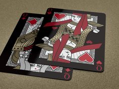 Omnia Playing Cards by Thirdway Industries — Kickstarter Jack Black, Poker, Roulette, Deck Of Cards, Card Deck, Card Games, Game Cards, Raise Funds, Golden Age