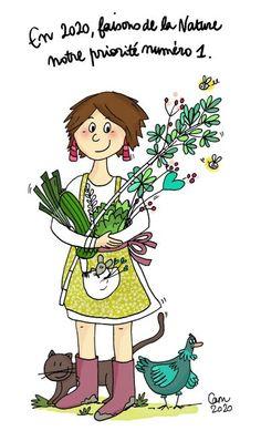 La Nature est notre priorité numéro 1, et nous le rend bien !  Camille Piantanida  www.CamillePiantanida.com