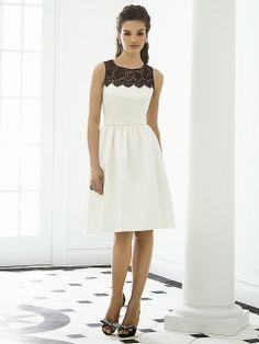 Vestidos cortos elegantes   Moda 2014