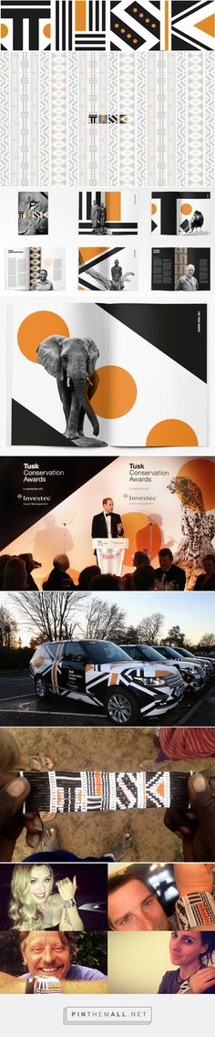 Brand New: New Logo and Identity for Tusk Conservation Awards by The Partners  http://www.underconsideration.com/brandnew/archives/new_logo_and_identity_for_tusk_conservation_awards_by_the_partners.php#.VIA4Y6SG9sA - created via http://pinthemall.net