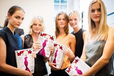 Zuzanna Bijoch, Hanne Gaby Odiele, Kasia Struss, Daria Strokous, and Mirte Maas with the Lady Gaga Vogue!!