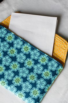 fabric envelope tutorial--need one or two