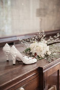 French Fancy - Handmade shoes by Marsha Hall - Created for an Organic and Natural shoot by Fiona Kelly - See; http://www.100layercake.com/real-weddings/view/organic-natural-wedding-inspiration/ - Perfect bespoke shoes for Wedding's, Special occasions, and everyday -  For more information visit Marsha Hall's website - http://www.marshahall.com/