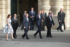 Watch Prince William's visit to the National Library - The Malta Independent