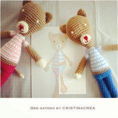 @cristinacrea diseña #amigurumis a medida.