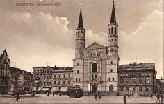 Kościół pojezuicki św. Ignacego Loyoli, Bydgoszcz - 1909 rok, stare zdjęcia Germany And Prussia, Old Photographs, Krakow, Dresden, Notre Dame, Poland, Building, Travel, Viajes